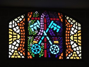 Mosaic or Stained Glass Window - The Pieces Of Our Lives Have A Beautiful Purpose
